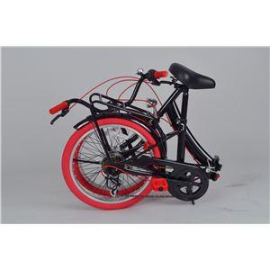レグレ 20インチ 折り畳み自転車 ブラック MG-CT206