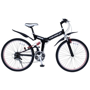 折畳み自転車 CHEVROLET WサスFD-MTB2618SE MG-CV2618E