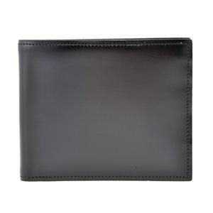 SONNE(ゾンネ) SOC002RE BLK 二つ折り財布(小銭入れ付)