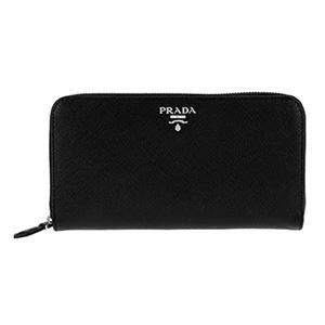 Prada (プラダ) 1ML506 S/COLOUR/NER/MUG 長財布