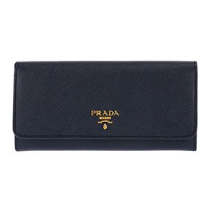 Prada (プラダ) 1MH132 S/ME/BALTICO 長財布