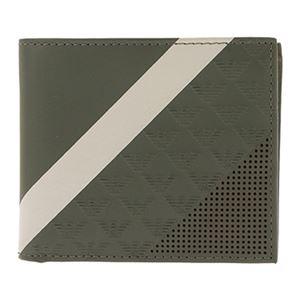 Emporio Armani (エンポリオ・アルマーニ) YEM122-YKS2V/81513 二つ折り財布