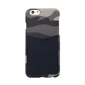 iPhone6s/6 ケース HANSMARE Leather Pocket Bar(ハンスマレ レザーポケットバー)アイフォン カバー(Bar camoufla navy)