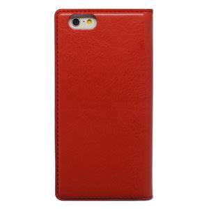 iPhone6s/6 ケース 手帳型 HANSMARE Standing Diary(ハンスマレ スタンディングダイアリー)アイフォン 2段階スタンド(red)