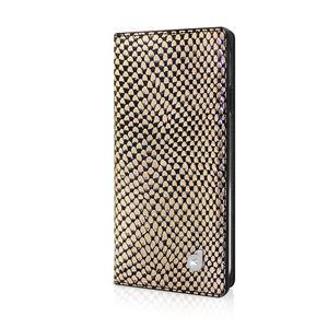 dreamplus iPhone6 シークレットポケットお財布ダイアリーケース ゴールド
