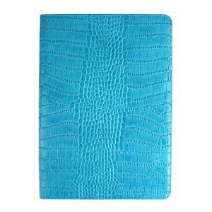 GAZE iPad Air 2 Vivid Croco Diary コーラルブルー
