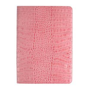 GAZE iPad Air 2 Vivid Croco Diary ピンク
