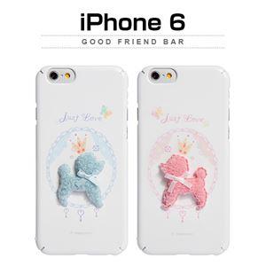 Happymori iPhone6 Good Friend Bar ピンクプードル