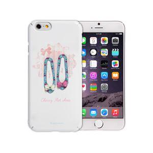 Happymori iPhone6 Plus Cherry Flat Shoes Bar ピンク