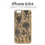 Man&Wood iPhone6/6s 天然木ケース UV WonderLand