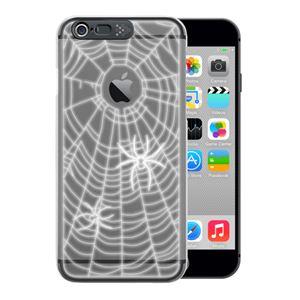 SG iPhone6 i-Clear イルミネーションケース Spider Black