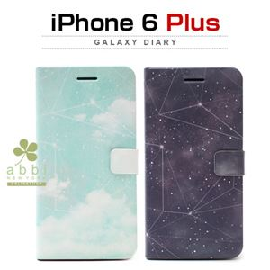 Happymori iPhone 6 Plus Galaxy Diary ミルキーウェイ