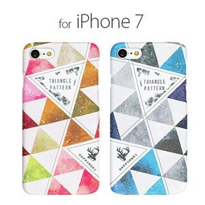 Happymori iPhone 8 / 7 Triangle Pattern ピンク