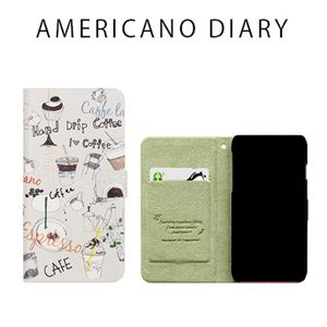 Happymori iPhone X Americano Diary