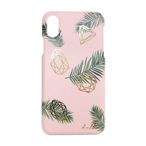 Happymori iPhone X kentia palm bar ピンク