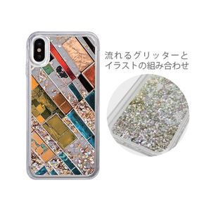 iCover iPhone X Sparkle case Stone Art