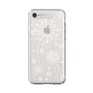 LIGHT UP CASE iPhone 8 / 7 Soft Lighting Clear Case Fireworks (ゴールド)