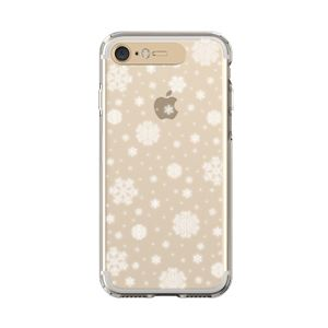 LIGHT UP CASE iPhone 8 / 7 Soft Lighting Clear Case Snow (ゴールド)