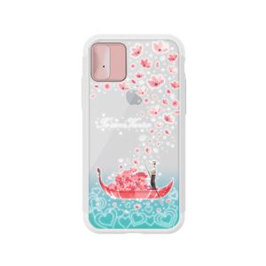 LIGHT UP CASE iPhone X Lighting Shield Case Landmark Venice(ローズゴールド)