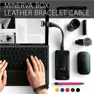 SLG Design Minerva Box Leather Bracelet Cable タン