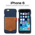 Zenus iPhone 6 Denim Vintage Pocket Bar