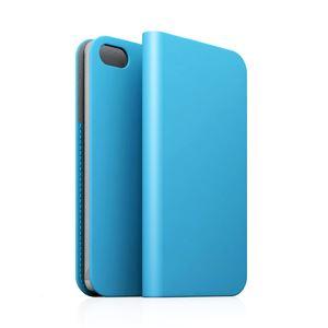 SLG iPhone5/5s D5 Calf Skin Leather Diary スカイブルー