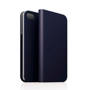 SLG iPhone5/5s D5 Calf Skin Leather Diary ネイビー