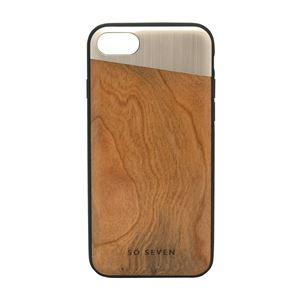 SO SEVEN iPhone 8/7 The Sulfurous METAL GOLD + WOOD