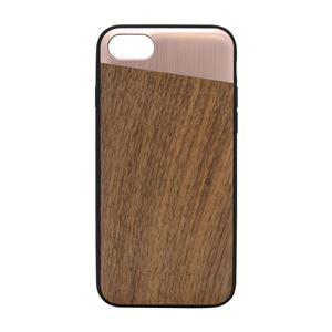 SO SEVEN iPhone 8/7 The Sulfurous METAL PINK GOLD + WOOD