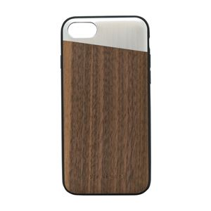 SO SEVEN iPhone 8/7 The Sulfurous METAL SILVER + WOOD