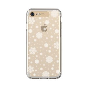 LIGHT UP CASE iPhone 8/7 Soft Lighting Clear Case Snow (ゴールド)