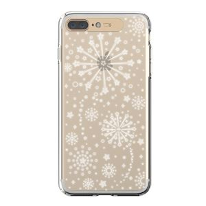 LIGHT UP CASE iPhone 8 Plus / 7Plus Soft Lighting Clear Case Fireworks (シルバー)