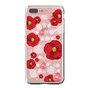 LIGHT UP CASE iPhone 8 Plus / 7Plus Soft Lighting Clear Case Flower Rosa (ローズゴールド)
