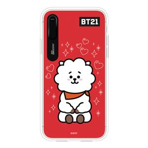 SG Design iPhone XS / X BT21 GRAPHIC LIGHT UP CASE RJ