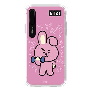 SG Design iPhone XS / X BT21 GRAPHIC LIGHT UP CASE COOKY