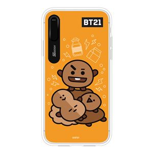SG Design iPhone XS / X BT21 GRAPHIC LIGHT UP CASE SHOOKY