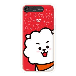 SG Design iPhone 8/7 BT21 GRAPHIC LIGHT UP CASE FACE RJ