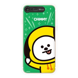 SG Design iPhone 8/7 BT21 GRAPHIC LIGHT UP CASE FACE CHIMMY