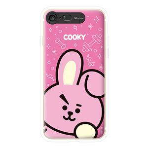 SG Design iPhone 8/7 BT21 GRAPHIC LIGHT UP CASE FACE COOKY