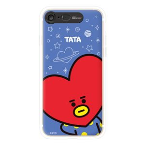 SG Design iPhone 8/7 BT21 GRAPHIC LIGHT UP CASE FACE TATA