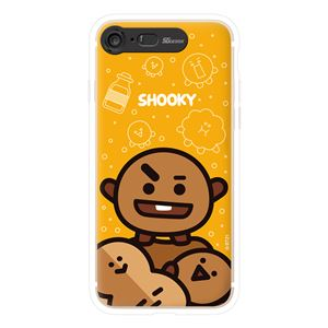 SG Design iPhone 8/7 BT21 GRAPHIC LIGHT UP CASE FACE SHOOKY