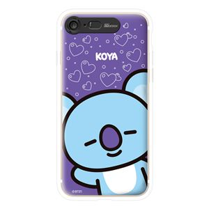 SG Design iPhone 8/7 BT21 GRAPHIC LIGHT UP CASE FACE KOYA