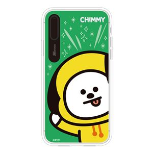 SG Design iPhone XS / X BT21 GRAPHIC LIGHT UP CASE FACE CHIMMY