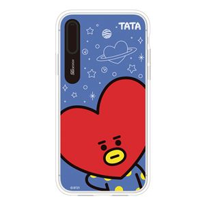 SG Design iPhone XS / X BT21 GRAPHIC LIGHT UP CASE FACE TATA