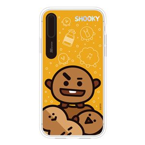 SG Design iPhone XS / X BT21 GRAPHIC LIGHT UP CASE FACE SHOOKY