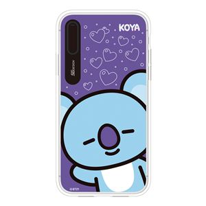 SG Design iPhone XS / X BT21 GRAPHIC LIGHT UP CASE FACE KOYA