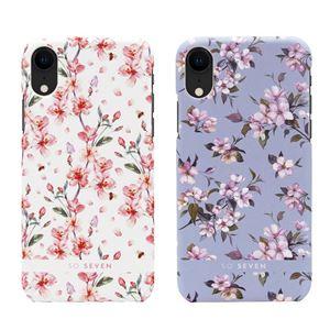 SO SEVEN iPhone XR SO SEVEN FASHION TOKYO WHITE CHERRY BLOSSOM FLOWERS