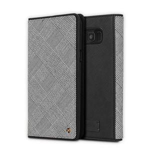 stil Galaxy S9+ GENTLEMAN FLIP ブラック