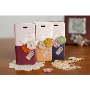 【iPhone5ケース】『HAPPYMORI』話題の可愛いケースハッピーモリ−Memories of Paris Diary  ワインレッド