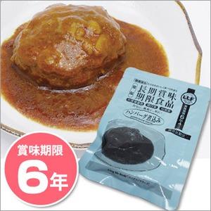 非常食 LLF食品 ハンバーグ煮込み100g  ×50パック ☆長期賞味期限6年以上 災害備蓄にも